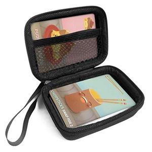 FitSand (TM) Travel Zipper Carry EVA Hard Case for Sushi Go Card Game - Black Box, Blacker Box, Best Protection for Sushi Go Cards
