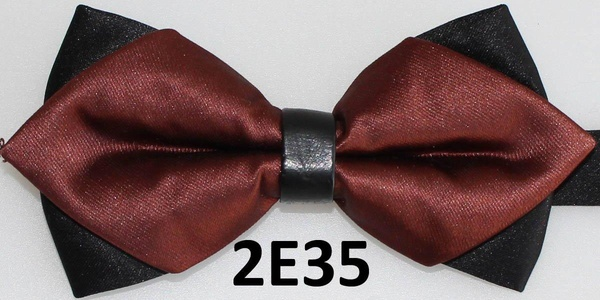 2016 Latest Bow Tie Solid Color Bow Ties For Men Butterfly Casual Men Brown Butterflies Bowtie