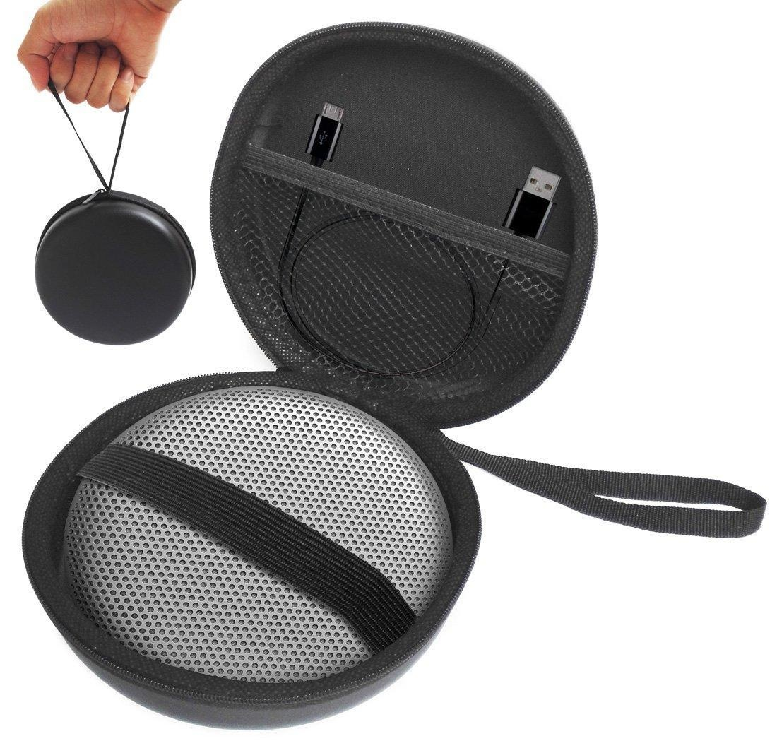 FitSand (TM) Carry Zipper Protective Portable Travel EVA Hard Case Cover Bag Box for B&O PLAY A1 Portable Wireless Bluetooth Speaker