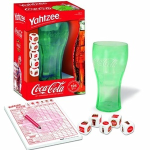 Yahtzee Coca Cola 125th Anniversary by Coca-Cola