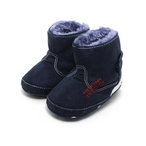 DEESEE(TM) Baby Infant shoes Baby Toddler Infant Snow Boots Soft Sole prewalker Crib Shoes (3~6 Month)