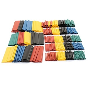 To-U 328pcs Assorted 2:1 Polyolefin Halogen-Free Heat Shrink Tube Tubing Sleeving Wrap Set 5 Color 8 Size