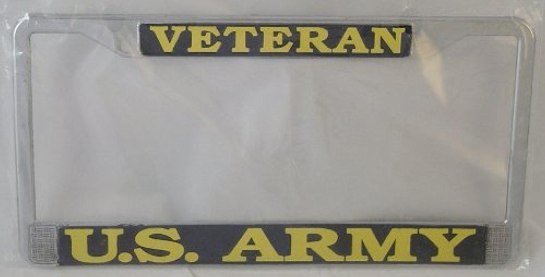 Navy Veteran License Plate Frames  Militarybestcom