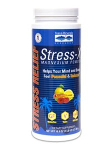 Trace Minerals Research, Stress-X Magnesium Rasp-Lemon 16.9 oz