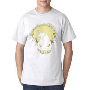 Glow Nightmare Before Christmas for Men T Shirt (Medium, White)