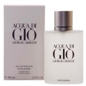 Acqua Di Gio Pour Homme by G i o r g i o A r m a n i EDT 3.4 Oz. New in Box by N'iceshop