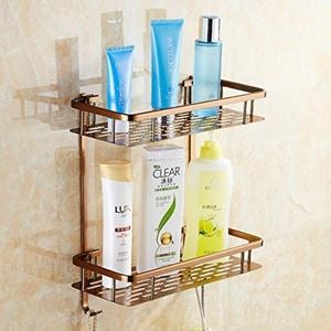 European-style antique brass Towel rack/Space aluminum bathroom racks/Bathroom hardware accessories set-K