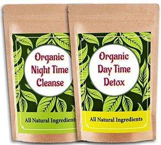 Detox Herbal Skinny Green Tea - Weight Loss Slimming Diet Tea - Only Natural Healthy Ingredients by Nutrient Wise