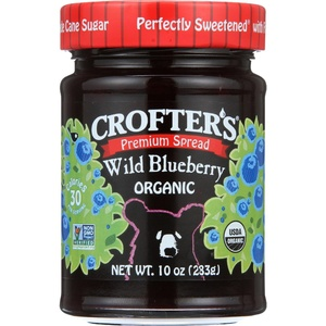 Crofters Organic Wild Blueberry Conserve, 10 Ounce -- 6 per case.