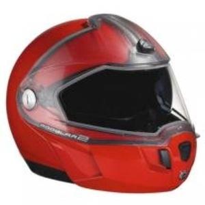 Ski-Doo New OEM Modular 2 Snowmobile Helmet XL RED 4476131230