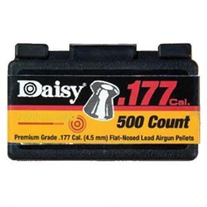 Daisy .177Cal Flathead Pellets 500Ct, 557