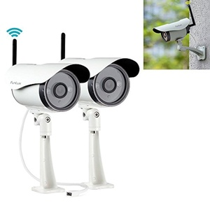 Funlux 720P IP Network HD WiFi Outdoor Home Security Camera System Wireless