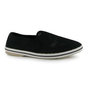 Mens SoulCal Mesh Casual Shoes Black (UK 9 / US 9.5)