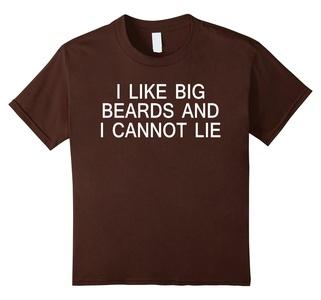Kids I like big beards and i cannot lie T-shirt 10 Brown