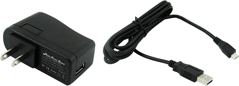 Super Power Supply AC / DC Adapter with Removable 6 Foot (6 FT) Cord for JBL Charge / JBL Charge2 / JBL PULSE / JBL Flip 2 / Portable Wireless Bluetooth Speaker JBL Micro II ; Wall Micro USB Plug