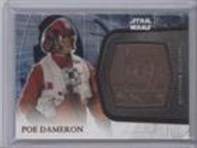 Poe Dameron (Trading Card) 2016 Topps Star Wars: The Force Awakens Series 2 Medallions Bronze #25