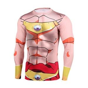 Cartoon Dragon Ball Majin Buu Perspire Quick-dry 3D Shirt Cosplay Marvel Costume (Asian-M)