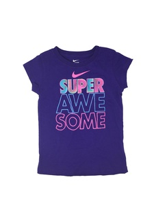 Nike Little Girls' Super Awesome Shirt (6X)