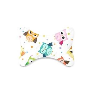 Owl Custom Travel Pillow Bone Shape Car Neck Pillow Car Seat Neck Rest Cushion Sofe And Healthy