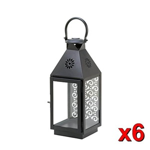 6 Sprightly Candleholder Lantern Wedding Centerpieces 14 1 4