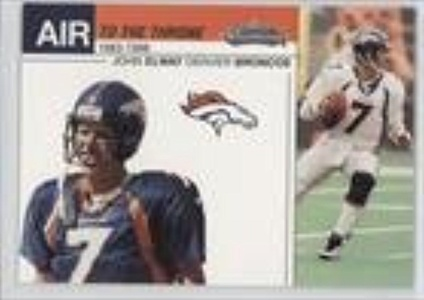 John Elway (Football Card) 2002 Fleer Showcase - Air to the Throne #15 AT