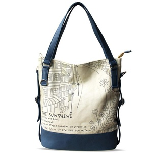 Casual canvas bag/Messenger bag/Art shoulder bag