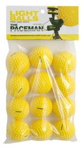Paceman Bowling Machine - Pack Of 12 Balls by Dimension Sport