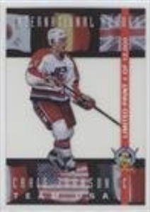 Craig Johnson #/12,000 (Hockey Card) 1994 Classic Pro Hockey Prospects - International Heroes #LP7