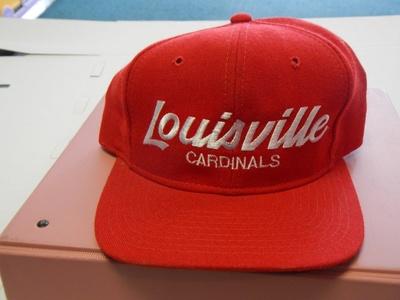 University Of Louisville Cardinals Adjustable Hat Baseball By Sports Specialties