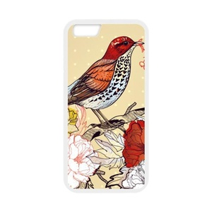 Case for iPhone 6S,Case Cover for iPhone 6,Case for iPhone 6(4.7 inch),Case Protector for iPhone 6/6S,iPhone Accessories Bird Protective Back Case Cover Suit for iPhone 6 6S