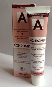 Achromin?? Skin-Whitening Cream For Dark Spots, Age Spots & Post-Pregnancy Brown Patches - 45ml by ACHR by Anti-Aging Company