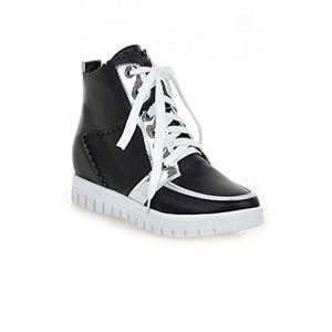 AIWEIYi Womens Fashion Floral Print Platform Shoes Fashion Sneakers