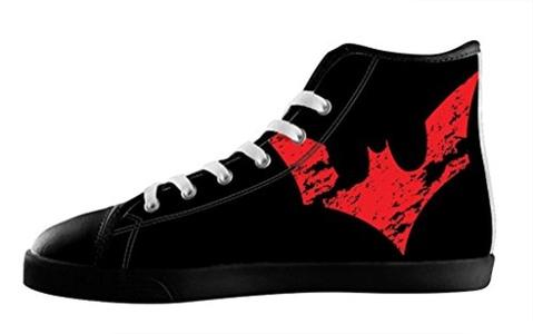 Custom Batman Individualized Design High Top Lace Up Canvas For Men's Shoes-11M(US)