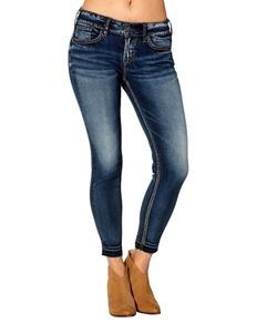 Silver Jeans Denim Womens Suki Skinny 30 x 26 Reg Wash L93104SSX438