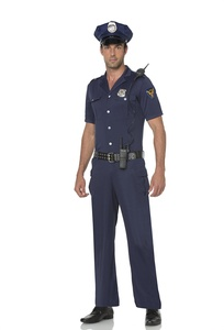 Mystery House Police Officer Costume (Large)