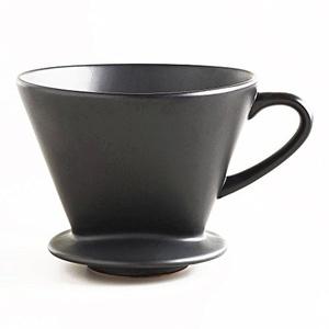 Matte Black Euro Ceramic Drip Coffee Filter