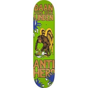 Anti Hero Skateboards Van Der Linden First Assorted Stains Skateboard Deck - 8.06