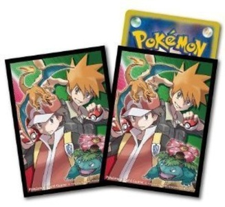 Pokemon Card Official Deck Shield Red and Green by Pokemon card game card supply
