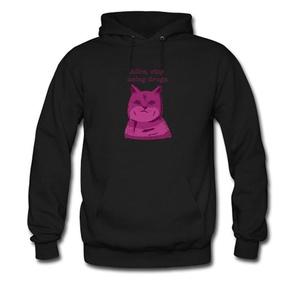Stop Please For men Printed Sweatshirt Pullover Hoody