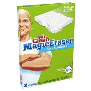 Mr. Clean Magic Eraser Bath Scrubber, 2-Count Boxes (Pack of 16) by Mr. Clean