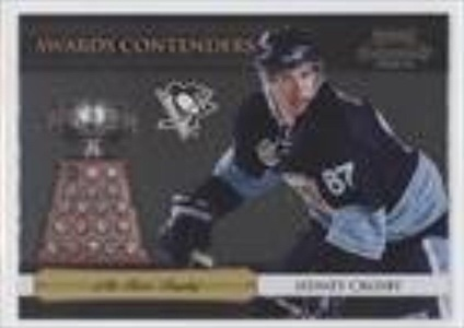 Sidney Crosby (Hockey Card) 2010-11 Panini Playoff Contenders Awards Contenders #16