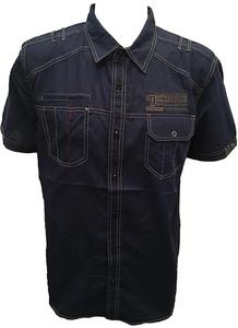 Men Shirts (S, NAVY)