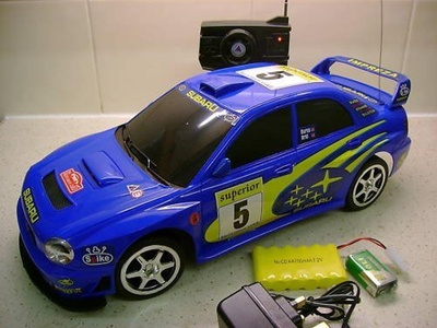 SUBARU IMPREZA WRC REMOTE CONTROL CAR 1/10 FAST SPEED by EXPRESS-DVD