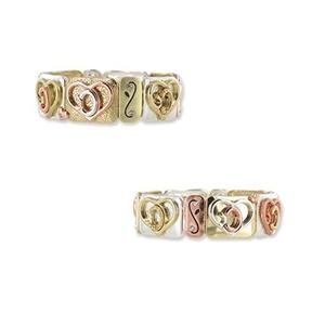 God's Heart Tile Stretch Bracelet by DM Merchandising