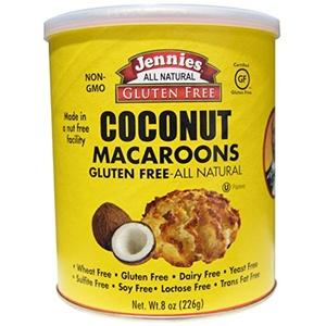 Jennies Gluten Free Bakery, Coconut Macaroons, 8 oz (226 g) Jennies Gluten Free Bakery, Coconut Macaroons, 8 oz (226 g) - 2pcs