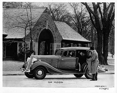 1934 Hudson ORIGINAL Factory Photo