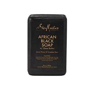Sheamoisture Organic African Black Soap Bar W/Shea Butter 235 ml (Pack of 6) by Shea Moisture