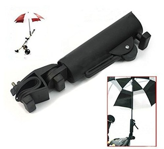 Golf Cart Umbrella Holder, Adjustable Universal Umbrella Holder for All Golf Cart Wheelchair Bike Stroller