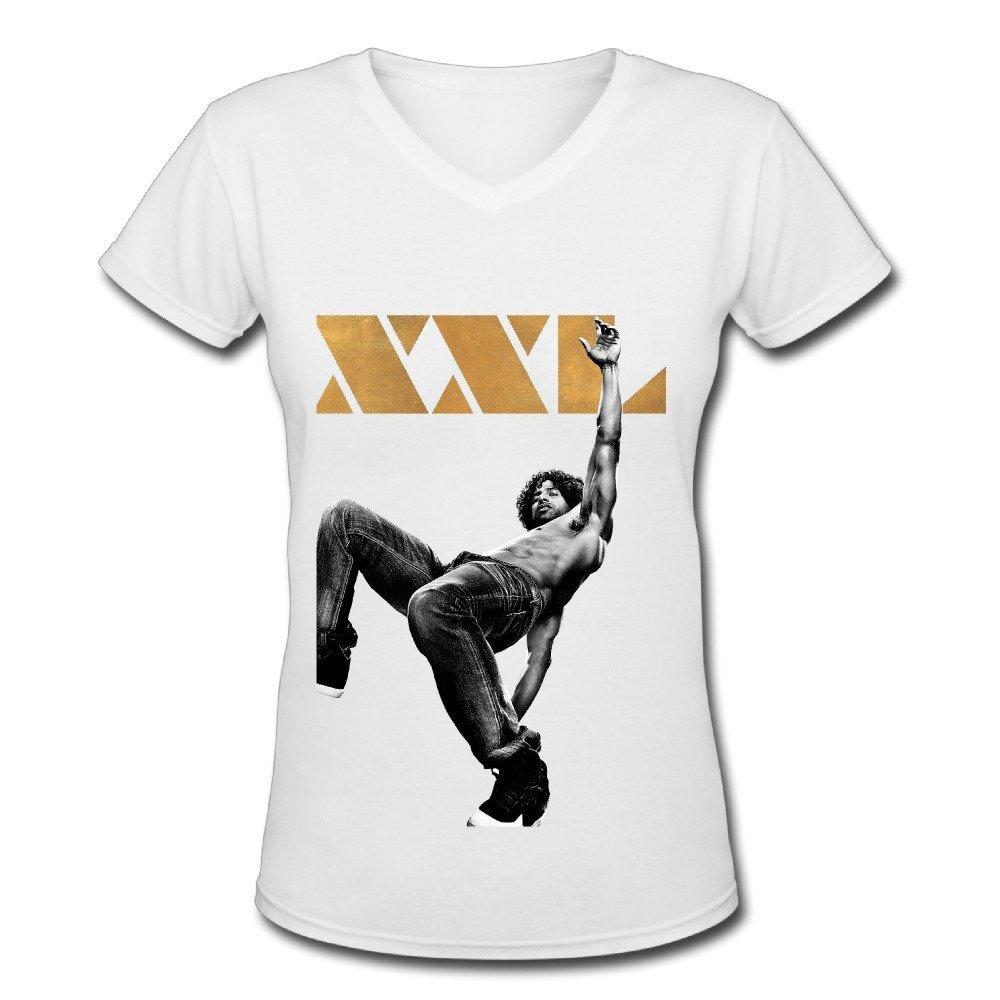 Poster design xxl - Magic Mike Xxl Joe Manganiello Poster Design Womens V Neck T Shirt White