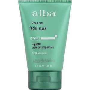 Pack of 3 x Alba Botanica Deep Sea Facial Mask - 4 fl oz by Deep Sea Facial Mask